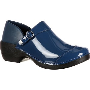 Rocky Womens 4EurSole Inspire Me Patent Leather Clog RKH047