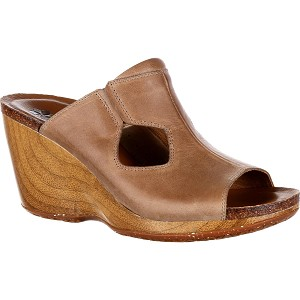 Rocky Womens 4Eur Sole Taupe Joyful Slide