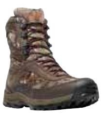 "Danner Mens High Ground 8"" Realtree Xtra Green Boots"