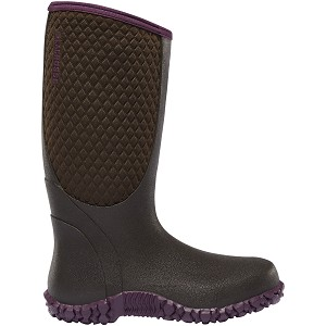 Lacrosse Womens Alpha Lite Chocolate/Plum 5.0Mm Boots