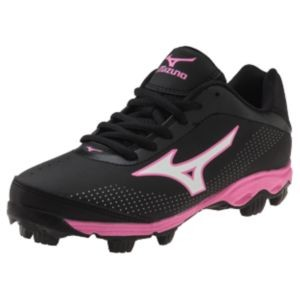 Mizuno Youth 9 Spike Finch Franchise 5 Molded Softball Cleats