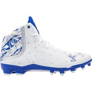 Under Armour Mens Banshee Mid MC Lacrosse Cleats - SIZE 7.5