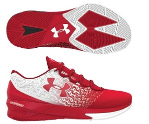 ua clutchfit drive white red