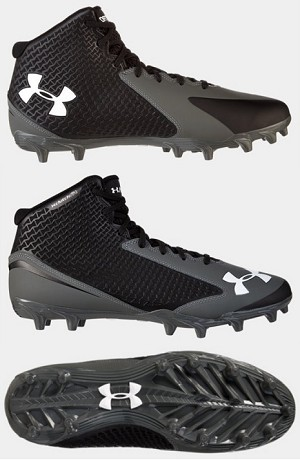 Under Armour Nitro Mid MC Football Cleats - Special