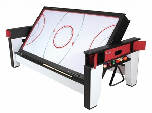 Escalade Sports Atomic 7' 2-in1 Flip Top Pool-Air Hockey Combo