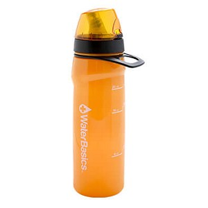 Aquamira Filtered Water Bottle RED-II-120