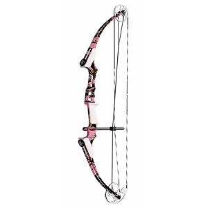 Genesis gen mini rh pink camo bow only for Mini crossbow fishing