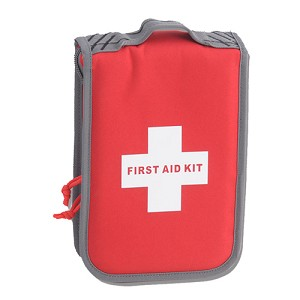 G Outdoors Medium First Aid Kit,Red,Case