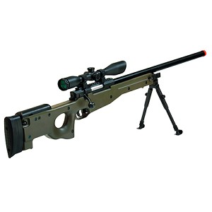 Leapers Inc. Airsoft Shadow Ops Sniper Rifle,OD