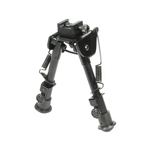 Leapers Inc. Bipod,Rubber Feet,Center Height 6.1