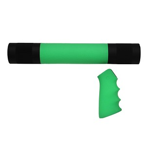 Hogue AR-15/M-16 Kit - OM Grp/For, Zombie Green