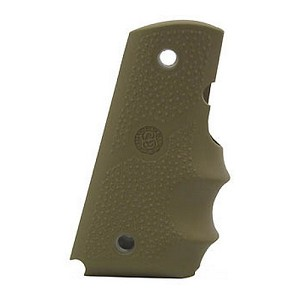 Hogue Officers Rub Grip w/FG FDE