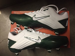 Nike Super Speed D - 131 White/Green - Size 9.5
