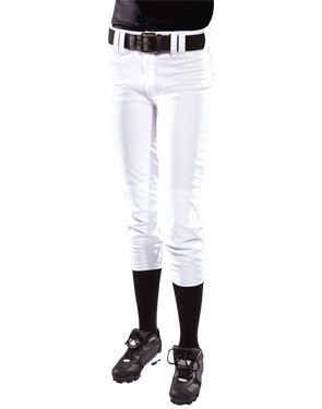 Teamwork Athletic Womens Low Rise Polyester Softball Pant