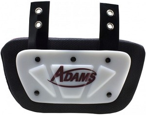 Adams Youth Football Back Plate