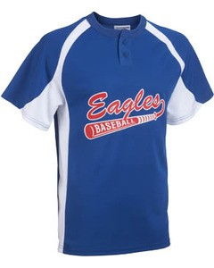 3a1c10d2a Teamwork Athletic Youth Line Drive 2 Button Baseball Jersey 1200P