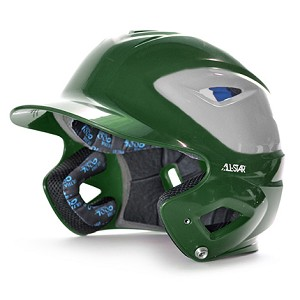All Star System Seven Two Tone Finish Batting Helmet