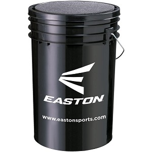Easton 6 Gallon Ball Bucket with Cushioned Lid Seat A162956BU