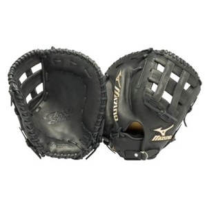 Mizuno Global Elite Series 13'' GXF10 Baseball Black First Base Mitt