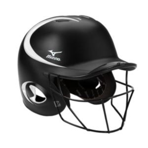 Mizuno Prospect MBH600 Batting Helmet with Fastpitch Facemask