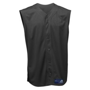 Mizuno Adult Full Button Sleeveless Mesh Baseball Jersey
