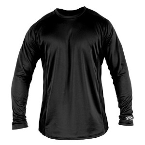 Rawlings Adult Long Sleeve Performance Crew Shirt