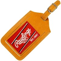 Rawlings Heart of Hide Tan Luggage Tag