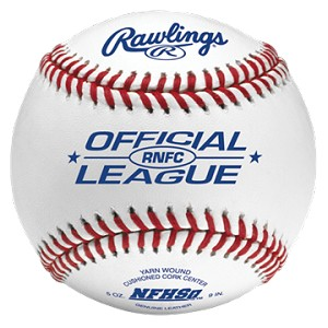 Rawlings Official League High School Raised Seam Baseballs
