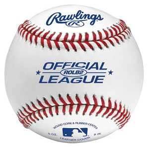 Rawlings Official League Leather Practice Baseballs