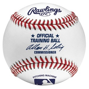 Rawlings Official Training Leather Pitching Machine Baseballs