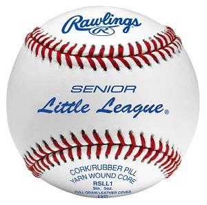 Rawlings Senior Little League Competition Grade Baseballs