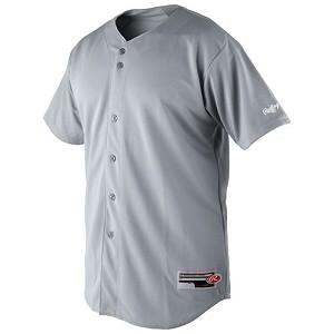Rawlings Youth Short Sleeve Baseball Jersey
