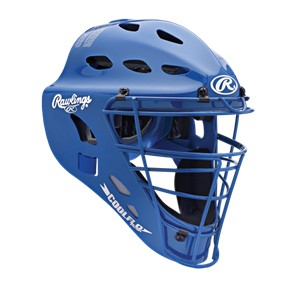 Rawlings Coolflo Hockey Style ABS Adult Catchers Helmet