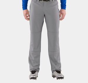 Under Armour Leadoff Pants - Gray - Size SMALL