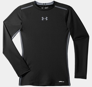 Under Armour Boys Fitted LS