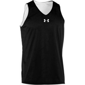 Under Armour Mens Double Double Reversible Basketball Jersey