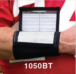 Quarterback Wristband Playbook