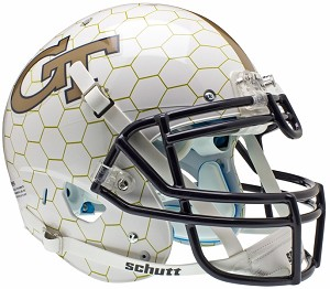 Schutt Georgia Tech Yellow Jackets XP Authentic