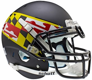 Schutt Maryland Terrapins XP Authentic Alt 2
