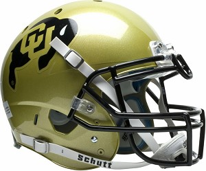 Schutt Colorado Buffaloes XP Authentic