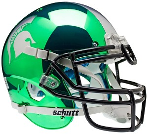 Schutt Michigan State Spartans XP Authentic Alt 2
