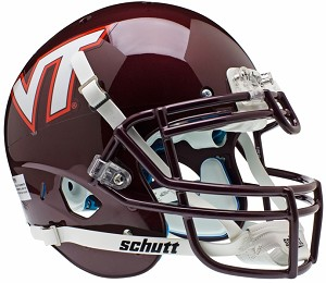 Schutt Virginia Tech Hokies XP Authentic