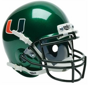 Schutt Miami Hurricanes XP Replica Alt 1