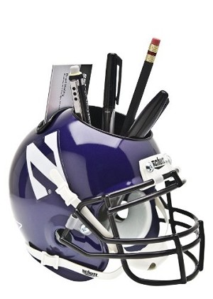 Schutt Northwestern Wildcats Desk Caddy