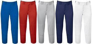 Mizuno Womens Select Belted Low Rise Fastpitch Softball Pant