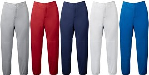 Mizuno Womens Select Non Belted Low Rise Fastpitch Pant